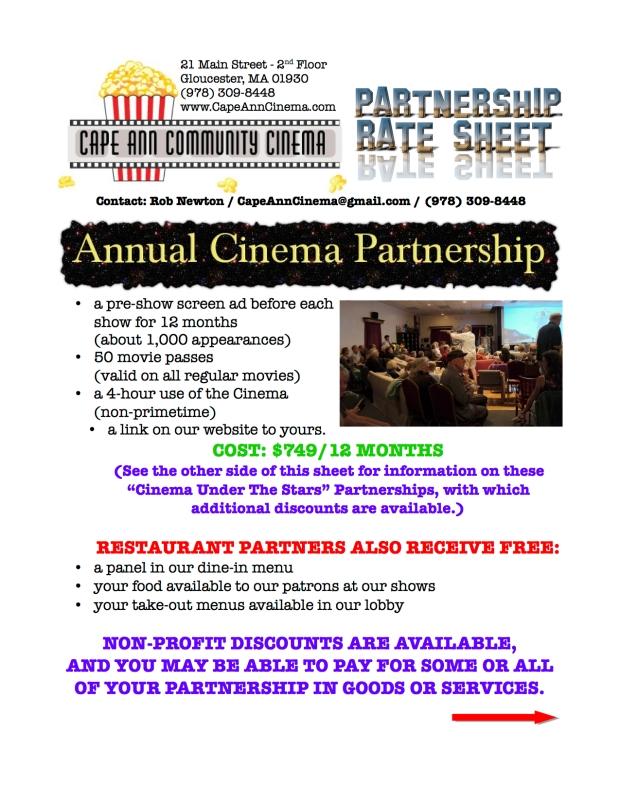 Partner Info Sheet 2014