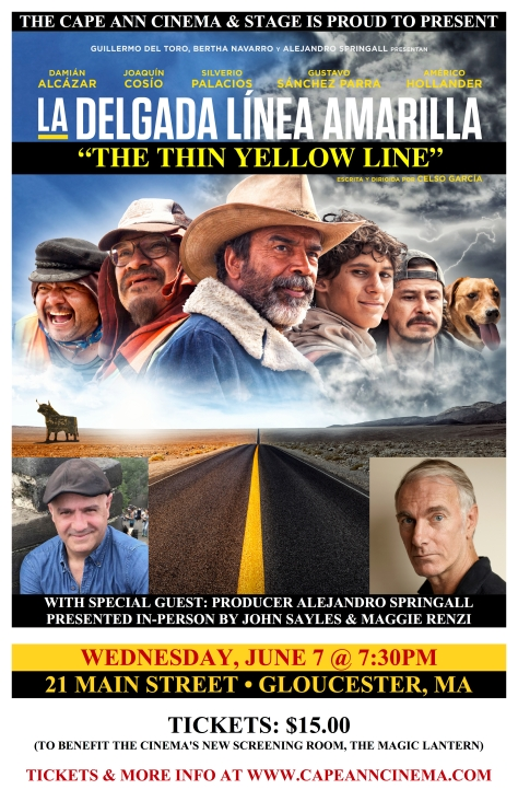 Thin Yellow Line - Poster